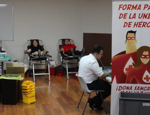El Centro de Ayuda Cristiano comprometido con la donación de sangre