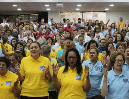 200 Evangelistas transmitieron un mensaje de esperanza