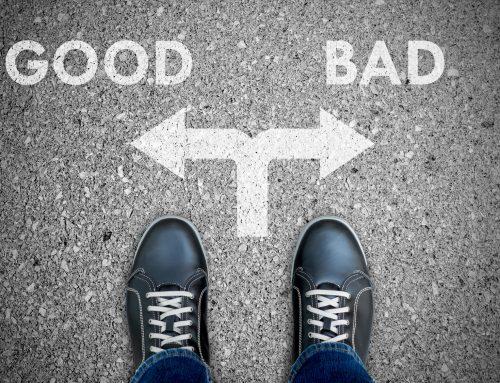 Imagen del mal vs imagen del bien