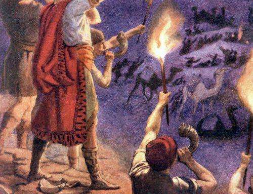 Trompetas, cántaros y fuego