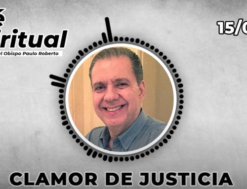 Clamor de Justicia |  Café Espiritual 15/04/21